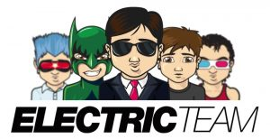 Logo Electricteam - création de sites web logo contact@electricteam.fr