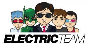 Logo Electricteam - création de sites web logo contact@electricteam.fr